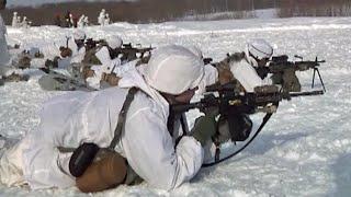 日米雪中戦訓練 NorthWind2 陸上自衛隊(第1空挺団・第5旅団) 北海道・矢臼別演習場