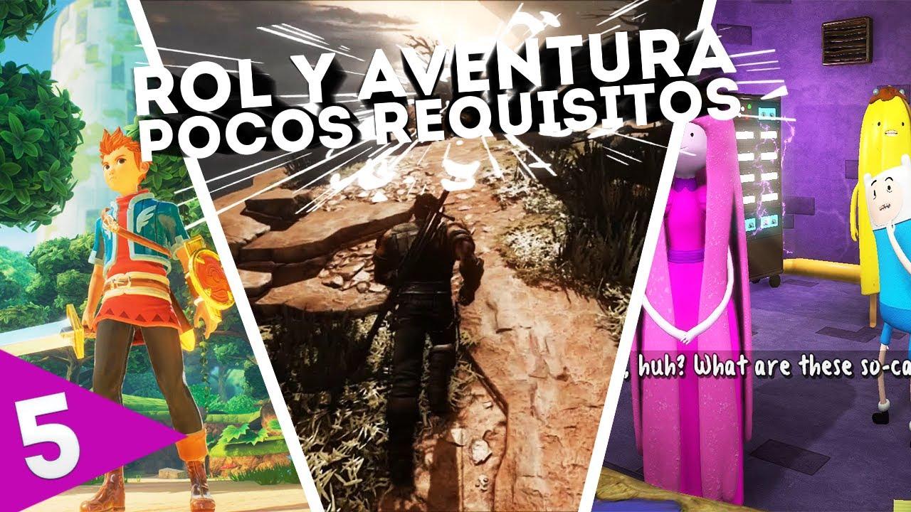 Top 5 Juegos De Aventura Y Rol Para Pc Pocos Requisitos 2017