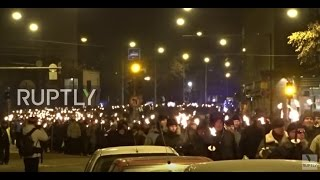 Finland  Thousands join far right 612 march on Finnish Independence Day
