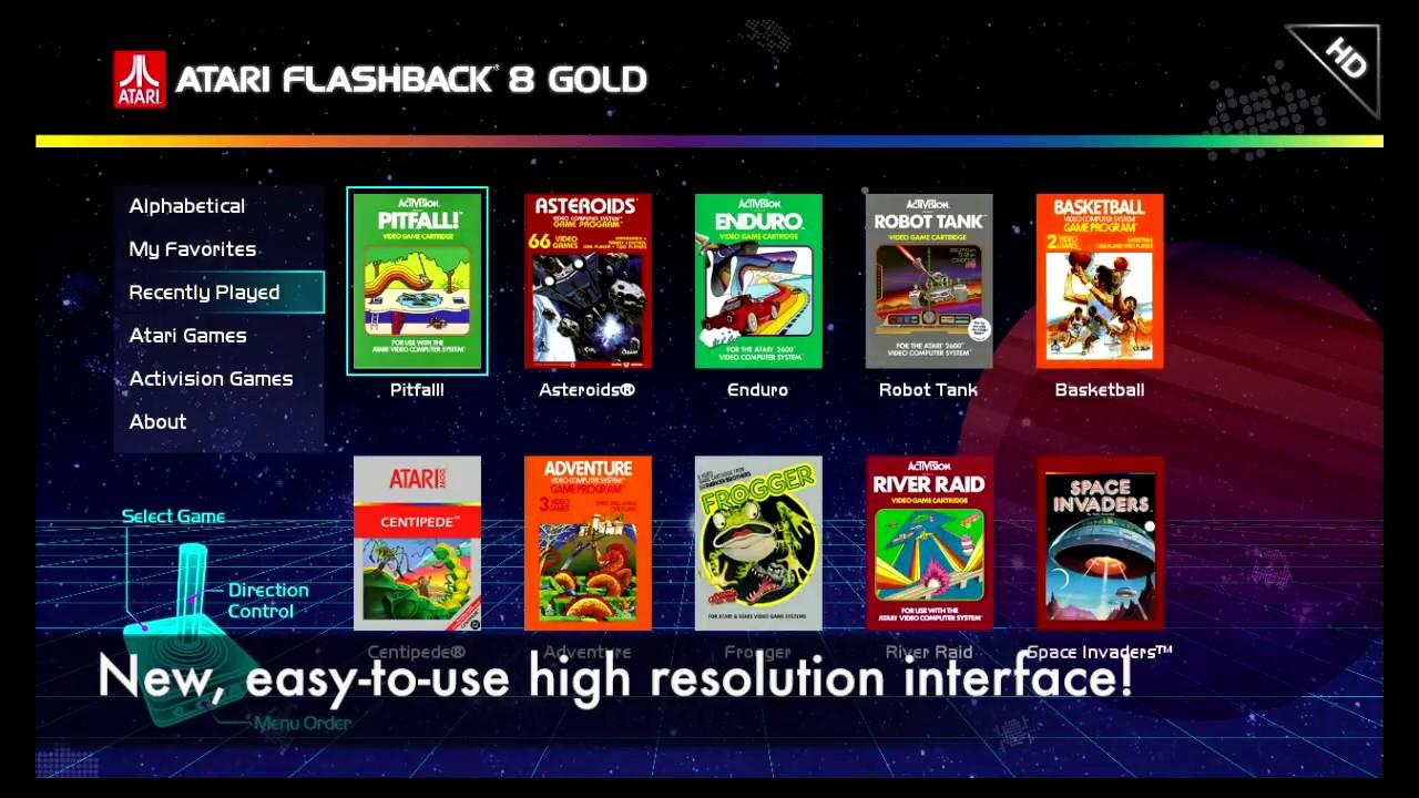 Atari Flashback 8 Gold Trailer Youtube