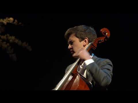 Performance: Preludio Fantasia for Solo Cello by Gaspar Cassadó   Sola Lutringer   TEDxAUCollege