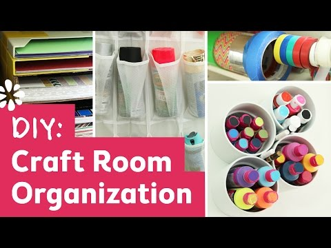 DIY Craft Room Organization Ideas! | Sea Lemon