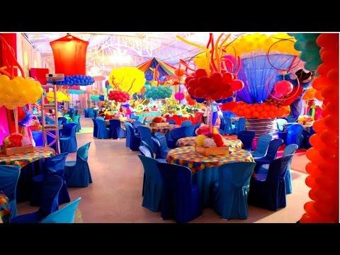 Curso CPT Montagem e Decoração de Festas Infantis