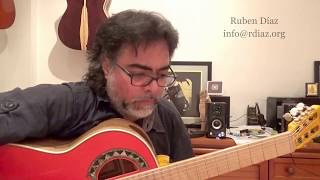 Mindful improvisation leads to composition in flamenco guitar /lessons Skype Ruben Diaz