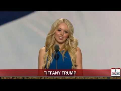 politics tiffany trump interview