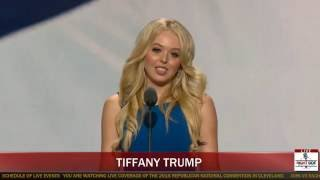 Tiffany Trump Full Speech at Republican National Convention (7-19-16)