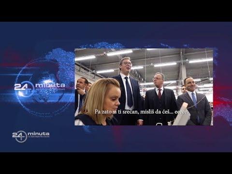 Turska fabrika u Kraljevu. Da li je predsednik uvredio žene?