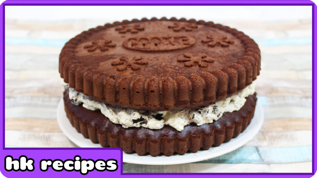 How To Make Giant Oreo Birthday Cake Quick And Easy Recipe By Hoopla Recipes Youtube