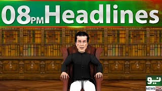 News Headlines - 08:00 PM | 17 August 2018 | Neo News HD
