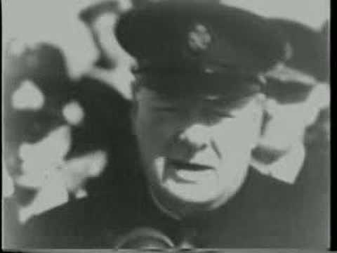 Churchill Reviews US & British Troops at Iceland 1941/8/29