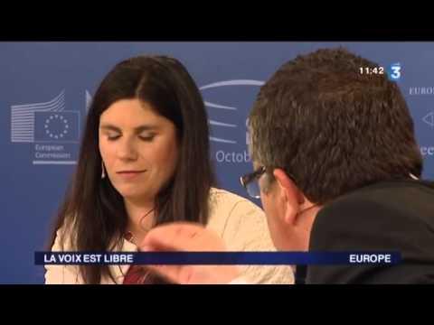 """Virginie Roziere est l'invitée de """"La voix est libre"""" de France 3 Languedoc-Roussillon"""