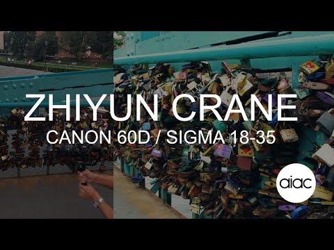 Zhiyun Crane test - Canon 60D / Sigma 18-35