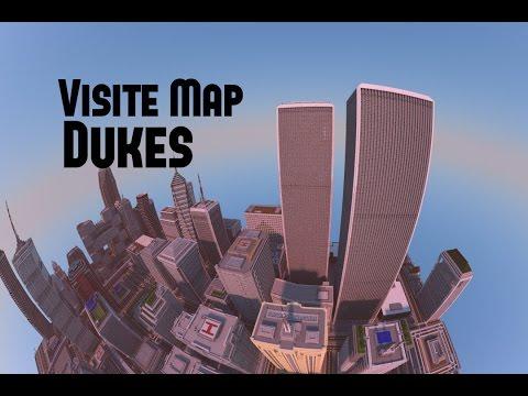 VISITE DE MA MAP MINECRAFT [New York/Los Angeles] PS4