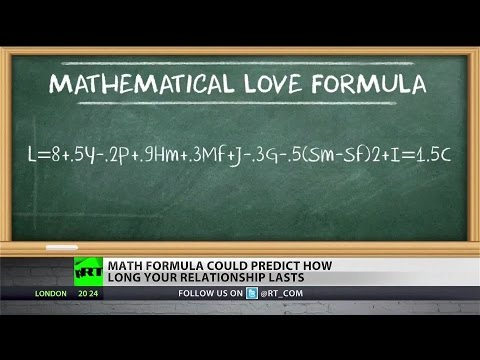 Mathematicians develop 'love formula' for the longest lasting relationship