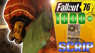 IS THE PURVEYOR WORTH IT!? SELLING 1000 SCRIP WORTH OF LEGENDARIES! - FALLOUT 76