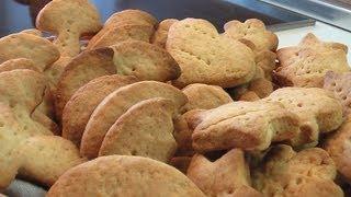 Печенье с крахмалом и сметаной. Очень вкусно!