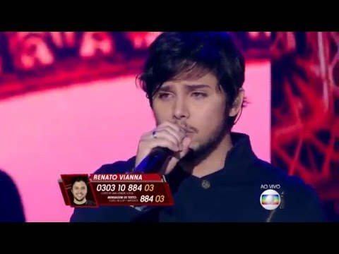 Renato Vianna canta 'Billie Jean' no The Voice Brasil - Shows ao Vivo | 4ª Temporada