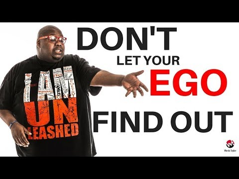 Motivation for success | Don't Let Your Ego Find Out | 4th quarter lifestyle