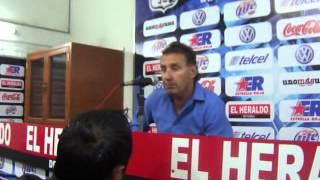 Daniel Bartolotta; técnico de Puebla FC, habla después de la derrota ante Cruz Azul