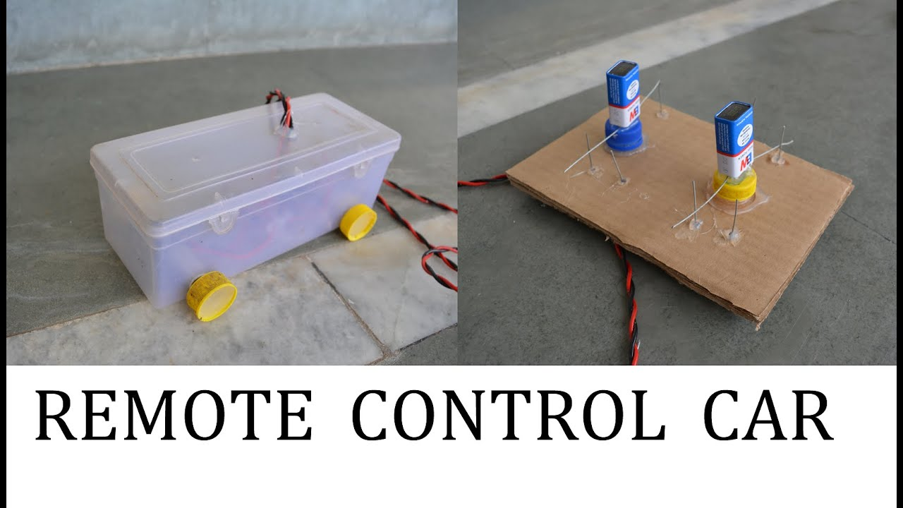 How to make a remote control car at home youtube for How to build a motor controller