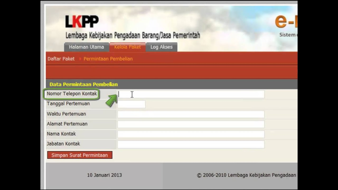 Tutorial E Purchasing E Catalogue Lkpp Youtube