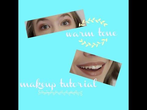 warm makeup tutorial! Emily Morgan