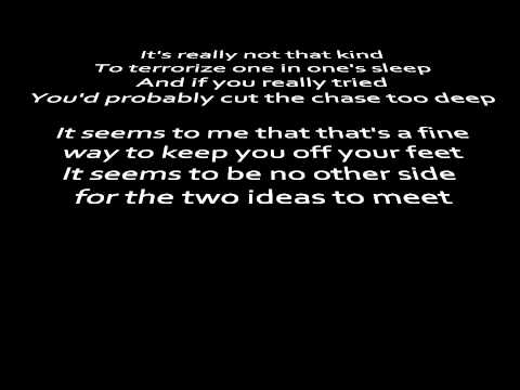 Good To Sea - Pinback (Lyrics on Screen)