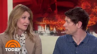 Laura Dern And Jack O'Connell Talk New Film 'Trial By Fire'   TODAY