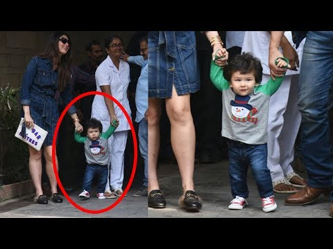 Taimur Ali Khan Cutely Walking With Parents Kareena Kapoor Khan And Saif Ali Khan Mp3