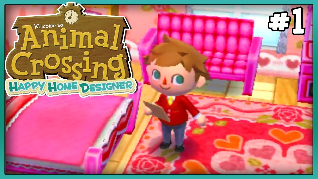 Animal crossing happy home designer part 1 day 1 a new - Animal crossing happy home designer cheats ...