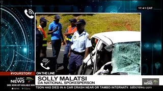 DA's Solly Malatsi reacts to the passing of Gavin Watson
