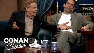 """Ben & Jerry Stiller On """"Late Night With Conan O'Brien"""""""
