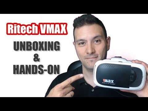 Best VR Headset For $15 - Ritech VMAX Unboxing & Hands-On Review