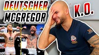 Deutscher CONOR McGREGOR?! Maurice Adorf vs. Alexander Wiens GMC23 Boxer reaction - RINGLIFE
