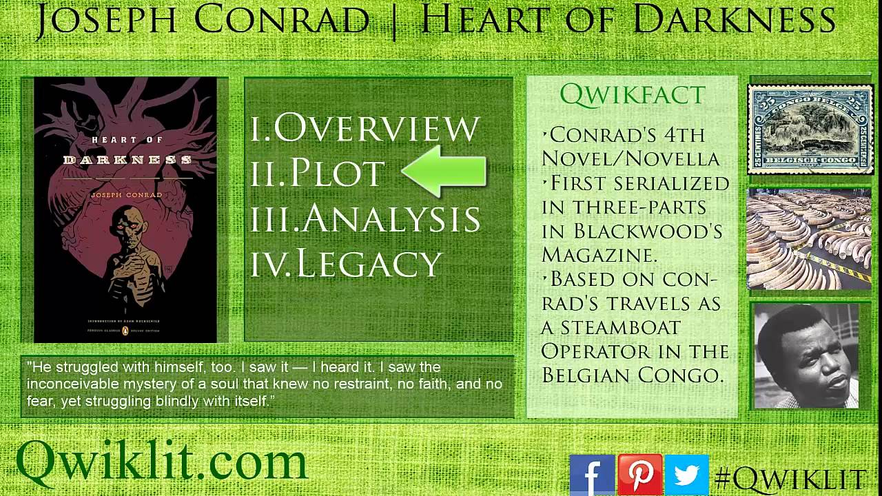 an analysis of heart of darkness a novel by joseph conrad An analysis of heart of darkness by joseph conrad conrad's novel heart of darkness is endowed with conventionally best for him and what his heart cried for.
