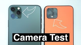 iPhone 11 Pro vs Google Pixel 4 Camera Test Comparison!