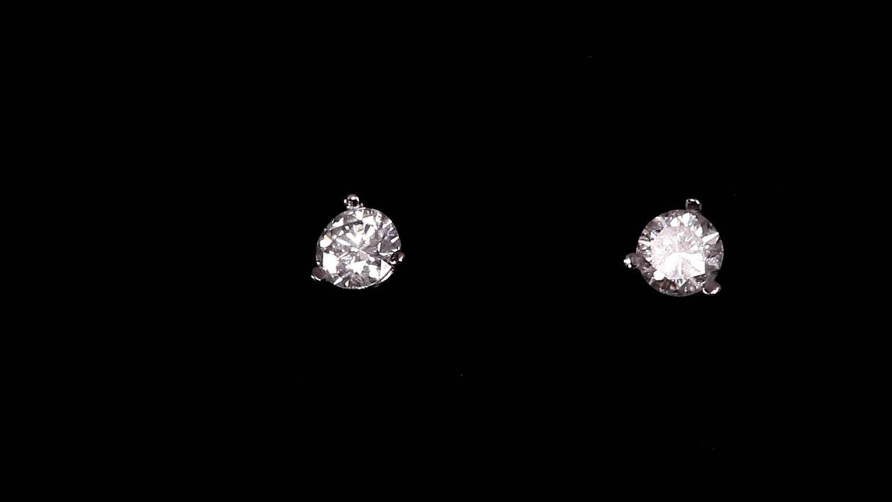 Diamond Stud Earrings 33 Carat