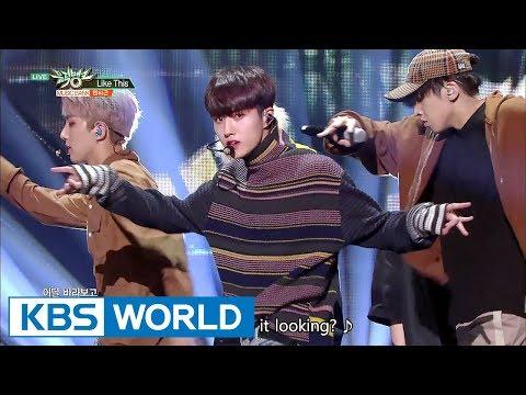 PENTAGON (펜타곤) - Like This [Music Bank COMEBACK / 2017.09.08]