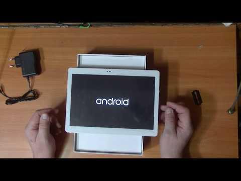CARBAYTA 4G LTE планшетный компьютер 10.1 4G  32Gb Распаковка