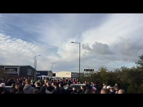 Doncaster and Rotherham fans after Derby day madness