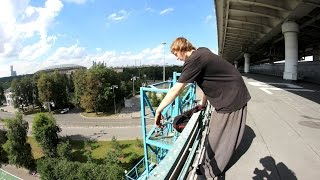 Vovka on the bridge))))))))))))))