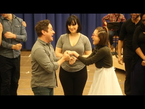 "Christopher Fitzgerald and Kimiko Glenn Sing ""I Love You Like a Table"" from WAITRESS"