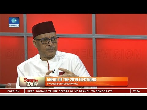 Nigeria Is The Most Miserable Place To Live On Earth - Pat Utomi Pt.1 | Sunrise Daily |