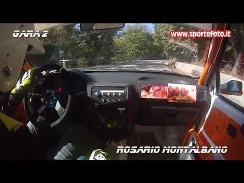 Rosario Montalbano camera car - 16° Slalom Monte Condrò - Serrastretta (CZ) 15-10-17