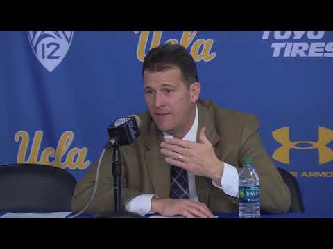 Steve Alford Post Game Press Conference - South Dakota vs. UCLA