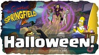 Die Simpsons: Springfield  Halloween Update 2018 - Akt 1! ★ (Deutsch / German)