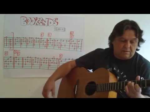 Fingerstyle Guitar Lesson #101: BOOKENDS (Paul Simon / Variations)