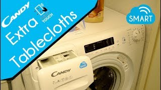 Candy SMART TOUCH washing machine - Tablecloths 60° (Android download cycle)