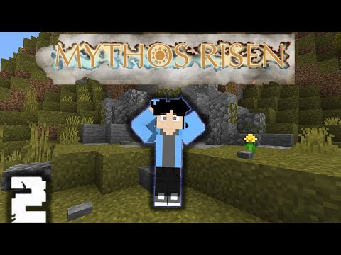 minecraft roleplay leaving the cave... (Mythos risen)