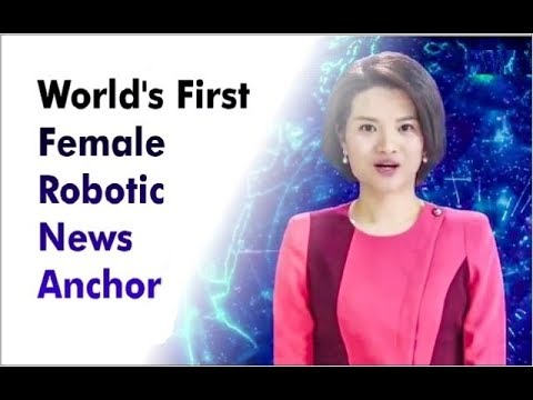 World's 1st Female Robotic News Anchor | China | Beijing